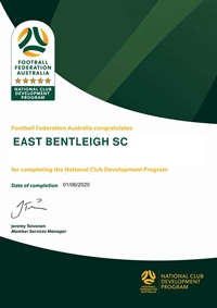 FFA NCDP 5 star Accreditation