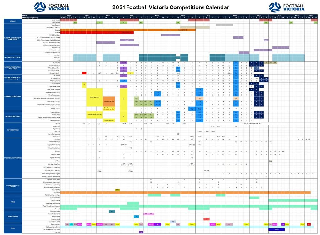 FV Calendar
